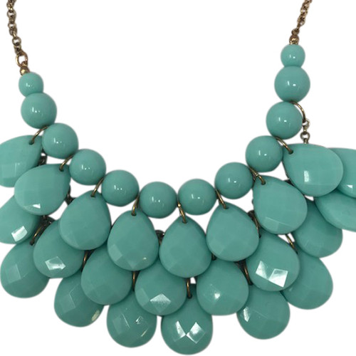 Joan Rivers Triple Tiered Teardrop Necklace- Detail