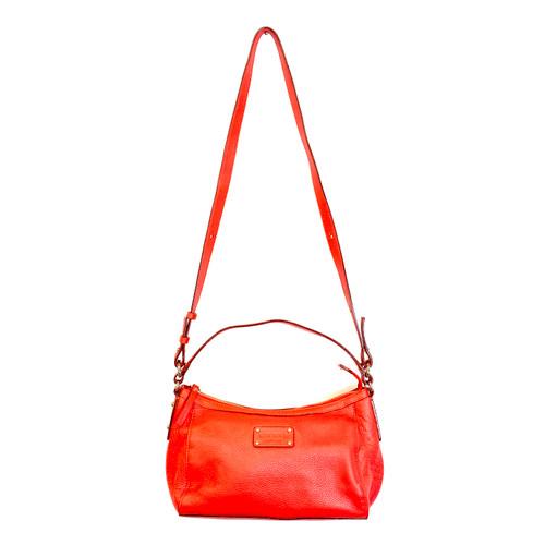 Kate Spade Pebbled Baguette Crossbody Bag- Front