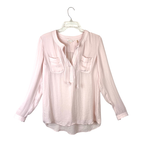 Rebecca Taylor Hammered Texture Tunic- Front