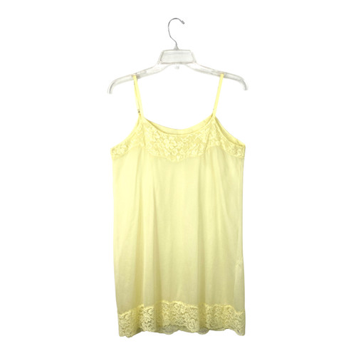 Vintage Butter Yellow Slip Dress- Front