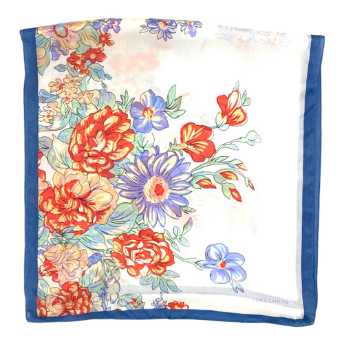 Vince Camuto Floral Skinny Scarf- Thumbnail