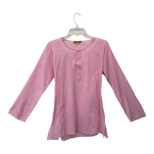 Phelgye Collection Cotton Voile Tunic- Front