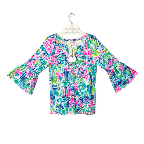 Lily Pulitzer Watercolor Tunic- Front