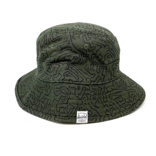 Herschel Supply Co. Keith Haring Design Hat- Front