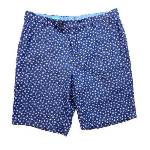 J. McLaughlin Printed Linen Shorts - Thumbnail