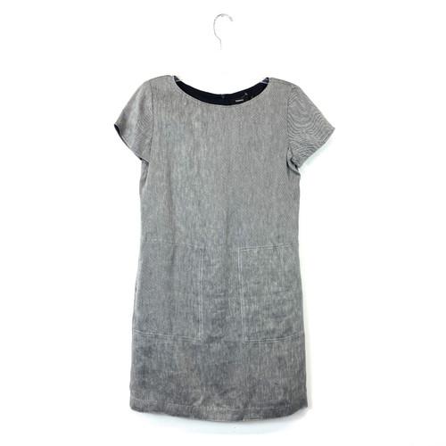 Theory Textured Linen Shift Dress - Thumbnail