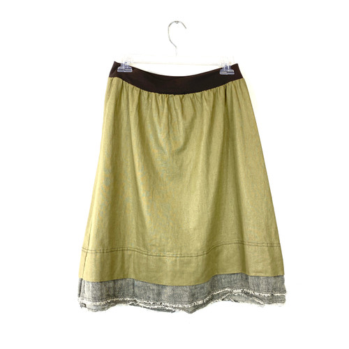 Formidable D.A.R. Layered Linen Skirt - Thumbnail