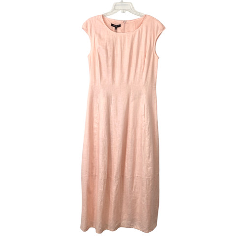Lafayette 148 Cocoon Form Linen Dress - Thumbnail