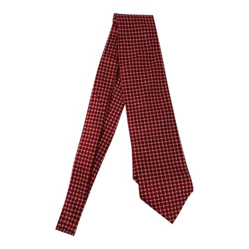 Giorgio Armani Geometric Net Print Tie