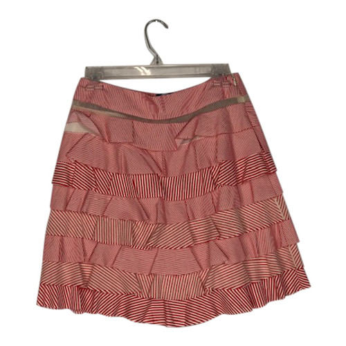 Blugirl by Blumarine Tiered Striped Skirt