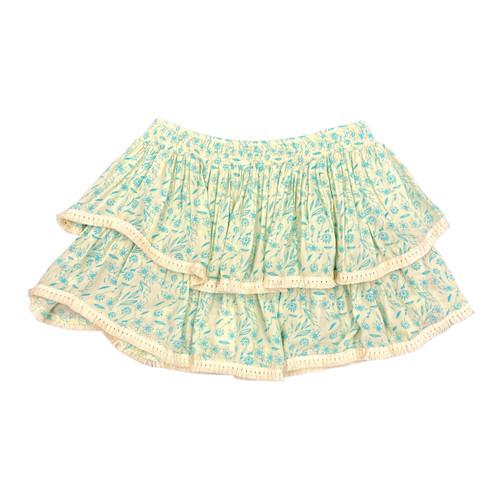 Cool Change Blue Casual Skirt - Thumbnail