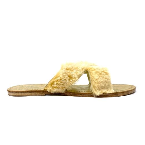 Figue Fur Slides - Thumbnail