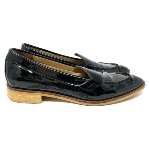 Everlane Patent Pointed Loafers- Right