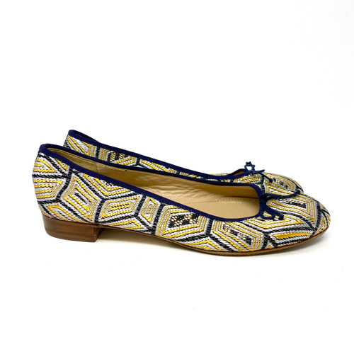 J. Crew Embroidered Ballet Flats- Right
