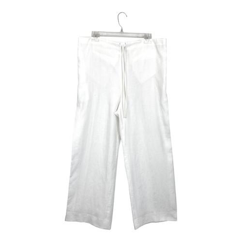 MaxMara Perfect Linen Pants- Front