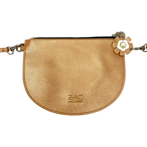 Zac by Zac Posen Crossbody Rose Gold Purse- Front
