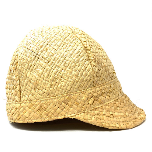 Straw Cap With Brim- Right