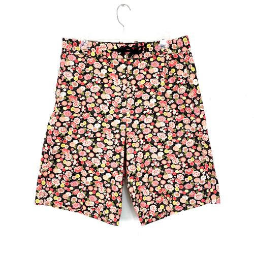6397 Floral Print Shorts- Front