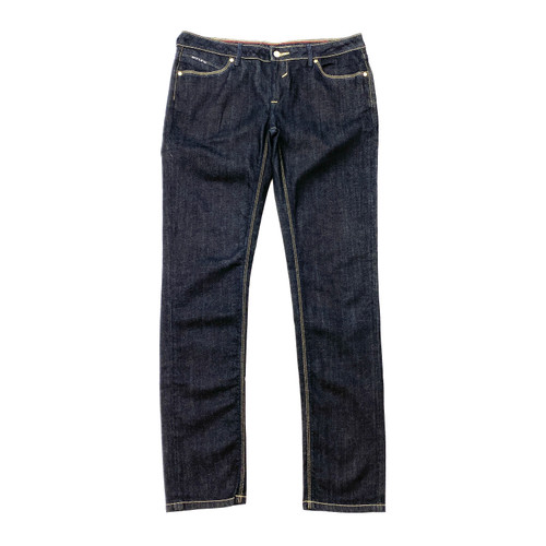 Jeanuine Straight Fit Dark Blue Jeans- Front