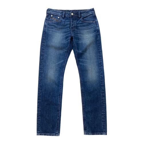 Jeanuine Medium-Wash Blue Jeans- Front