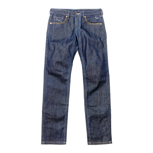 Jeanuine Raw Tapered Jeans- Front
