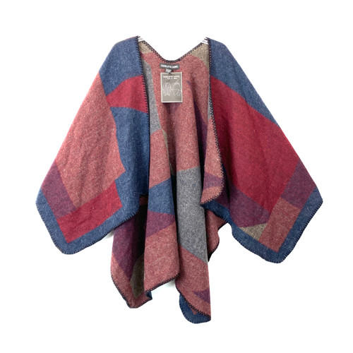 Charlotte Daniel Cozy Blanket Shawl- Front