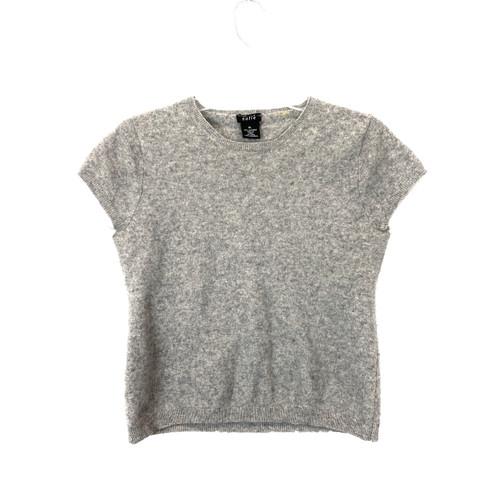 Sofie Shrunken Cashmere T-Shirt- Front