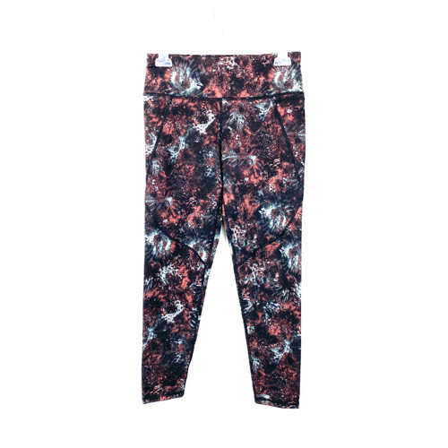 Sweaty Betty Pixelated Floral Power Workout Leggings- Front