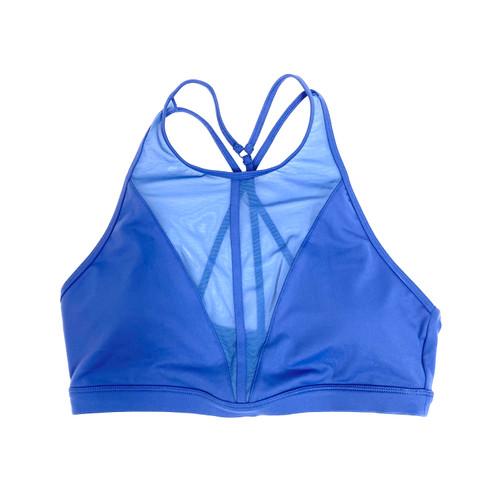 Alo Yoga Cobalt Empower Bra- Front