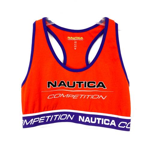 Nautica Competition Red Retro Bra- Front
