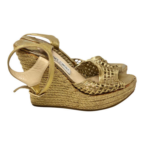 Jimmy Choo Gilded Espadrilles- Right