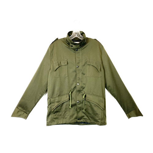Ge Shan Pin Yue Sateen Cargo Jacket- Front