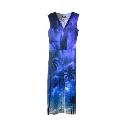 Osklen Duskfull Palm Dress - Thumbnail