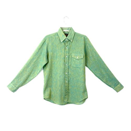 Sears Perma Prest Vintage Button Down Shirt - Thumbnail