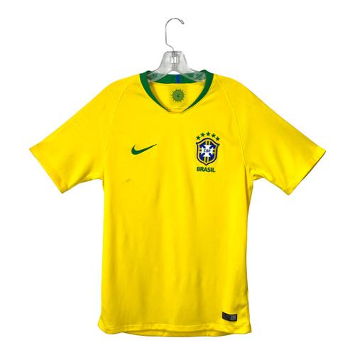 Nike Dri-Fit Brazil World Cup Soccer Jersey - Thumbnail