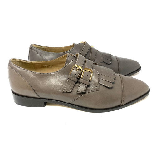 J. Crew Monochrome Pointed Monk Strap Shoes- Right