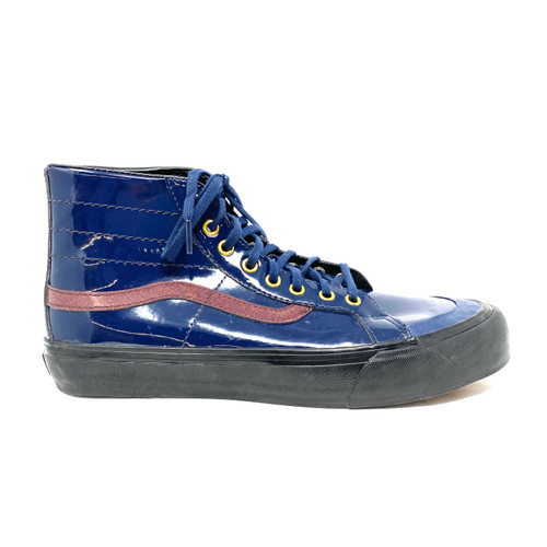 Vans Patent High Tops- Right