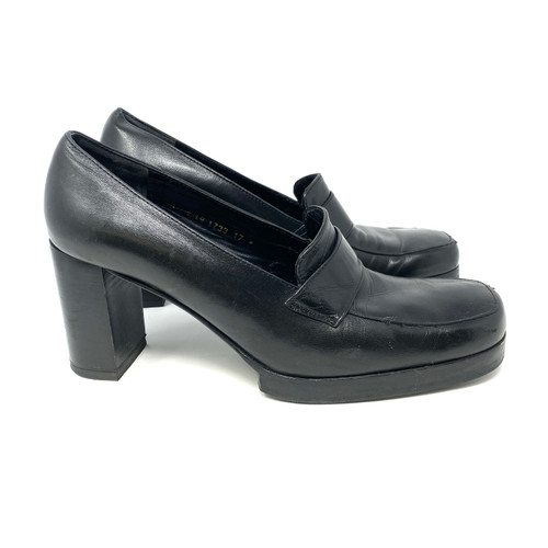 Robert Clergerie for Barneys New York Loafer Pumps- Right