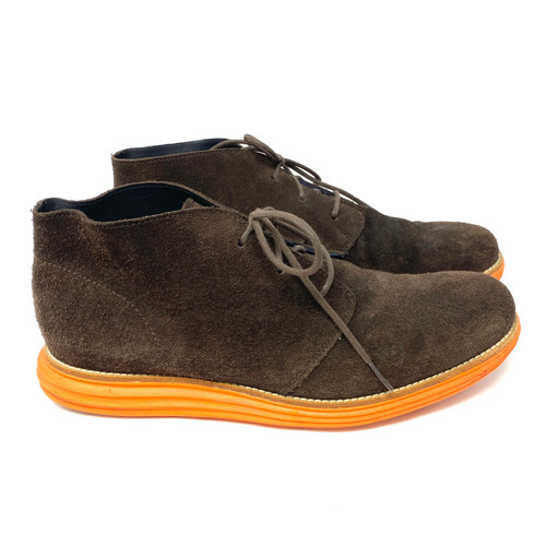 Cole Haan Contrast Sole Desert Boots- Right