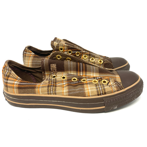 Converse 70s Plaid Slip On Sneakers- Right