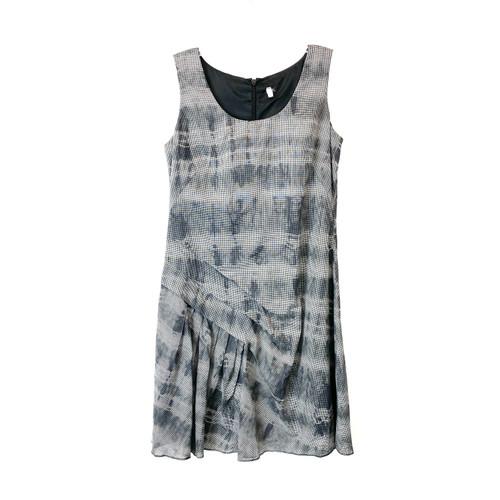 Sleeveless Layered Ruffle Dress- Front