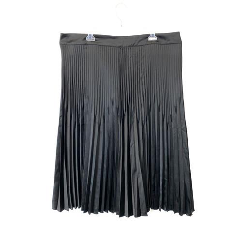 Universal Standard Pleated Midi Skirt- Front