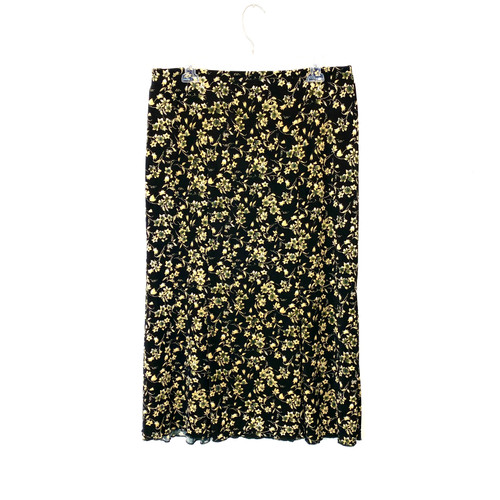 Vintage Briggs New York Floral Skirt- Front