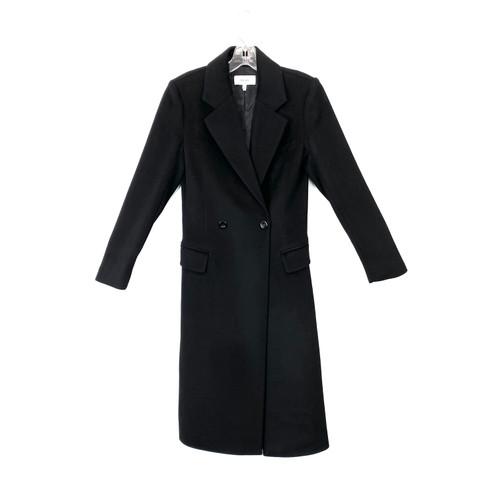 Reiss Wool Blend Lapel Coat- Front