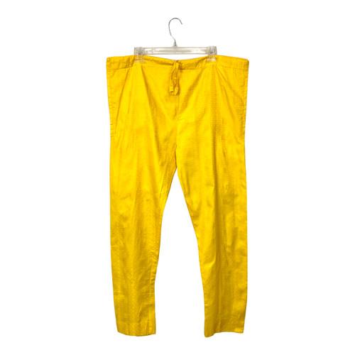 Box Grid Drawstring Pants- Front