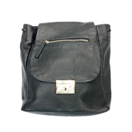 L.A.M.B. Leather Flap Over Backpack - Thumbnail