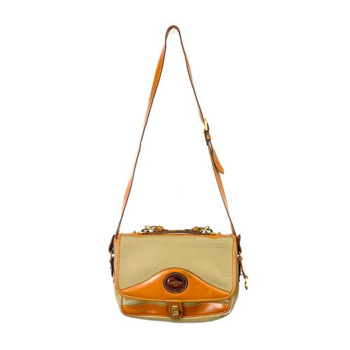 Vintage Dooney & Bourke All Weather Leather Shoulder Bag - Thumbnail