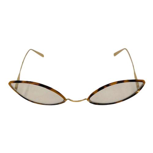 Super Slanted Extreme Cat Eye Glasses-Front