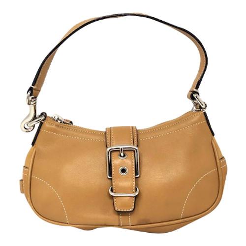 Coach Buckle Shoulder Bag-Front