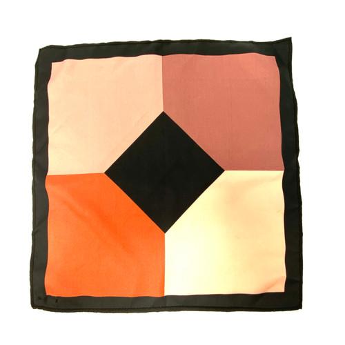 Scotch Color-block Pocket Square- Thumbnail